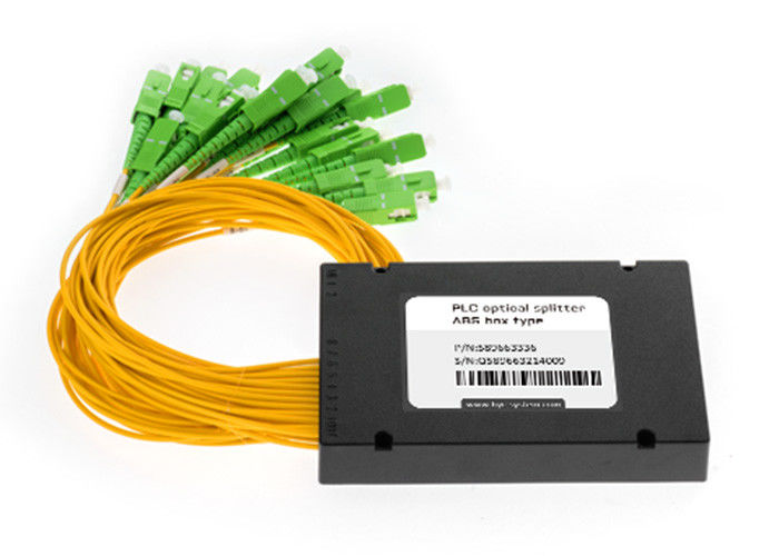 Custom Optical Sound Cable Splitter , Passive Fiber Splitter Multi Mode