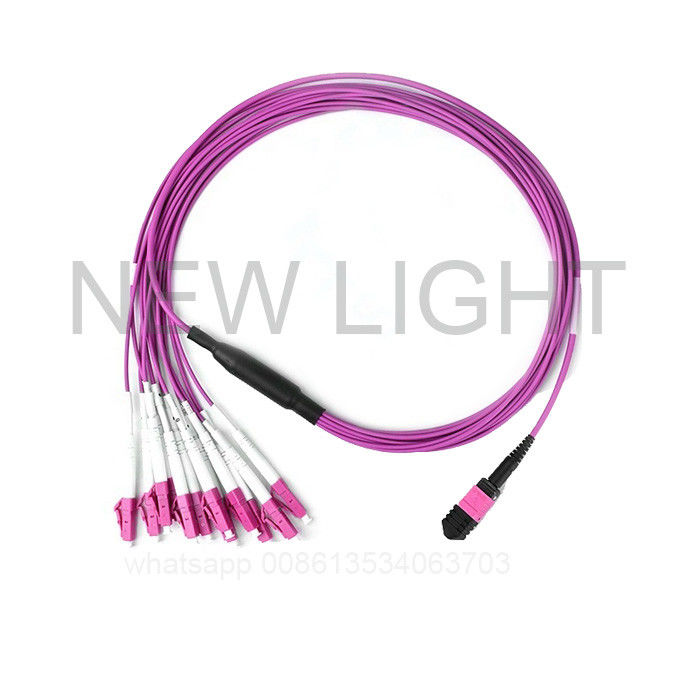 Industrial Multi Fiber Cable With MTP/MPO Connectors MTP/MPO Style