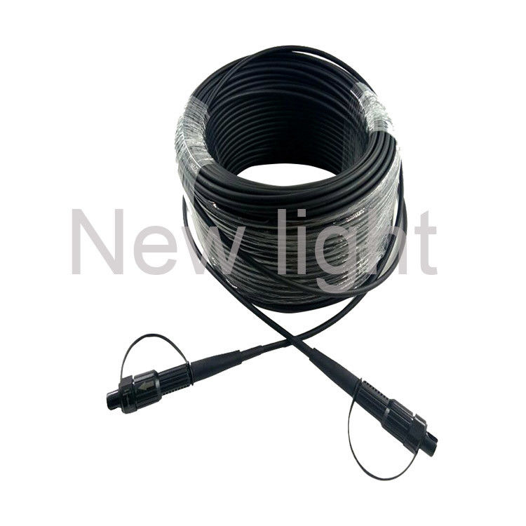 FTTA Fiber Optic Cable With Ip68 Fiber Optical Waterproof Connector